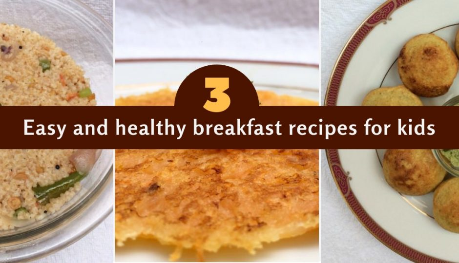 3 Easy, Healthy Breakfast Recipes for Kids