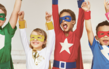 Your Kid as a Superhero (No Visible Underpants Required)